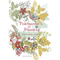 Postcards of Blessing. Colour, Pray, Send!