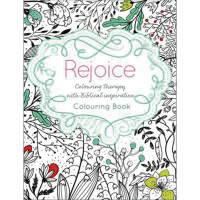 Rejoice, Colouring Therapy with Biblical Inspiration..