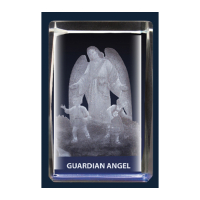 Guardian Angel Glass Block