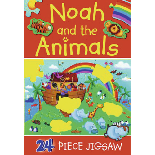 Noah and The Animals - 24 Piece Jigsaw