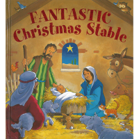 Fantastic Christmas Stable - A Giant Fold-Out Book