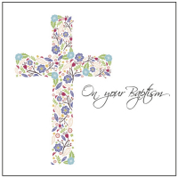 On Your Baptism Card - Design 1