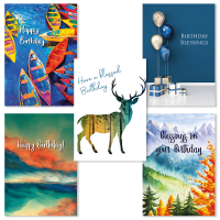 Birthday Cards - Pack 2