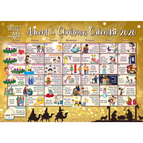 Walk With Me Advent 2020 - Calendars