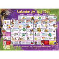 Walk With Me Lent 2019 - Calendars
