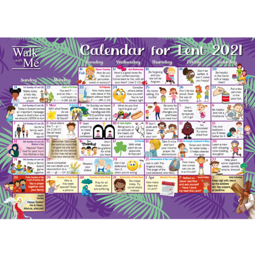 Walk with Me - Calendars