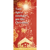 I Will Light a Candle Card