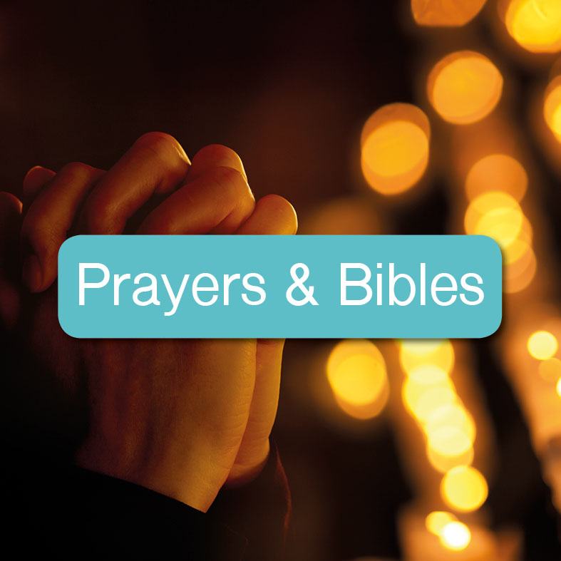 Prayer & Bibles