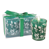 Christmas Scented Candles - Green