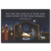 Christmas Fridge Magnet - Design 3