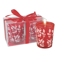 Christmas Scented Candles - Red
