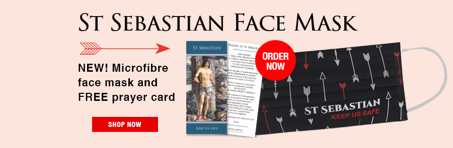 St Sebastian Face Mask