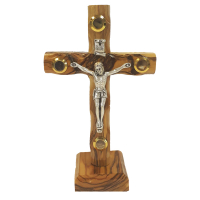 12cm Stand Cross with Relics