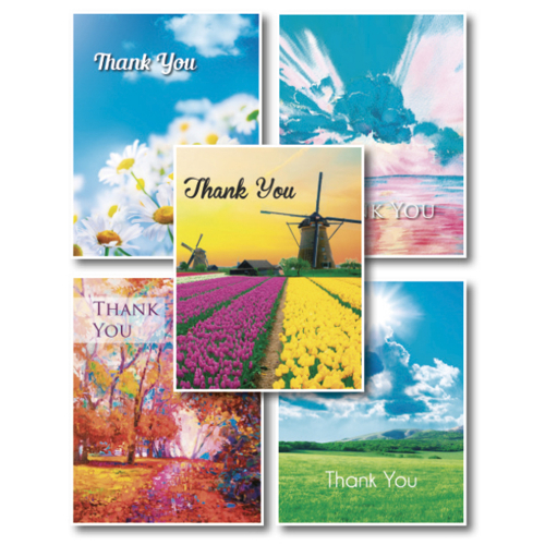 Thank You Cards 2018 - Multipack